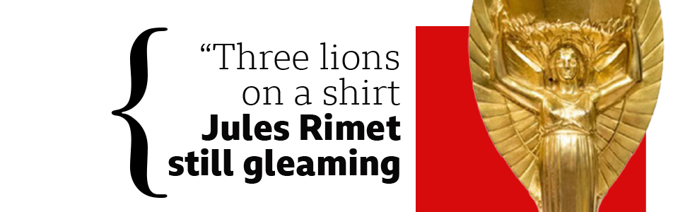 Three lions quote card