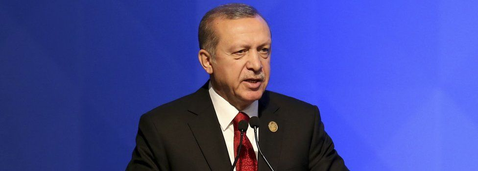 President Recep Tayyip Erdogan (file pic)
