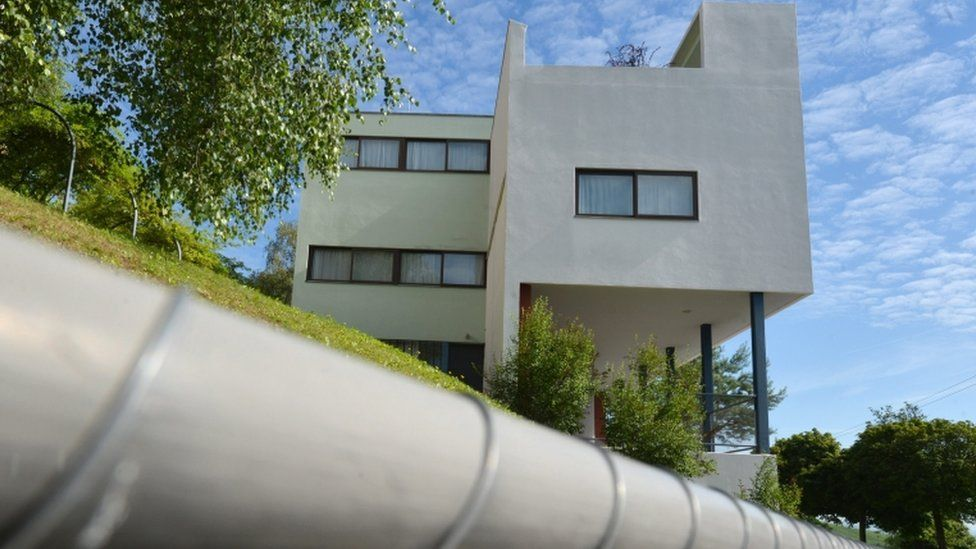 Le Corbusier House at the Weissenhof Estate in Stuttgart, Germany