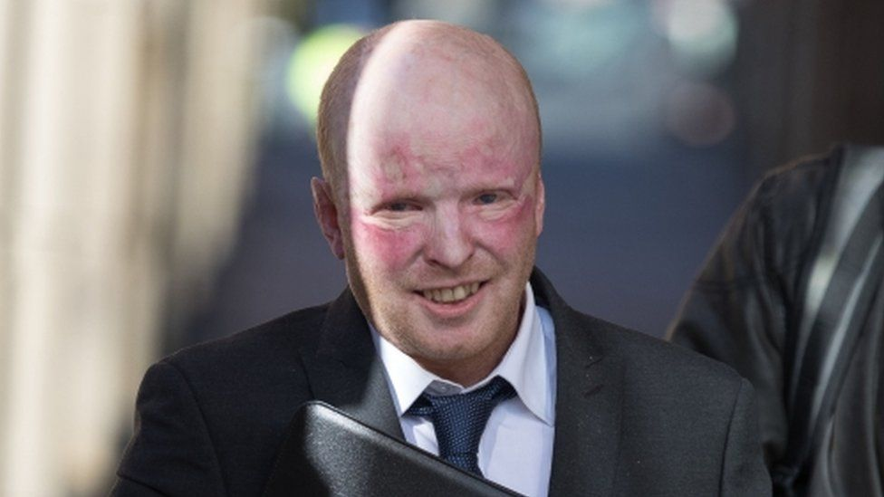 Richard Pearson, 43, leaving Stafford Crown