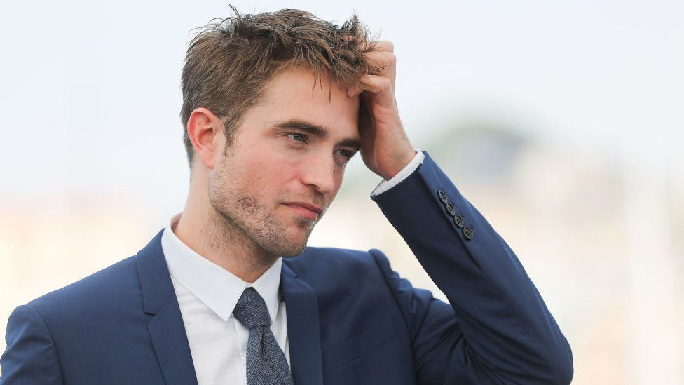 Robert Pattinson during a photocall at the Cannes Film Festival