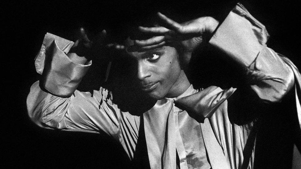 Prince on stage in 1987