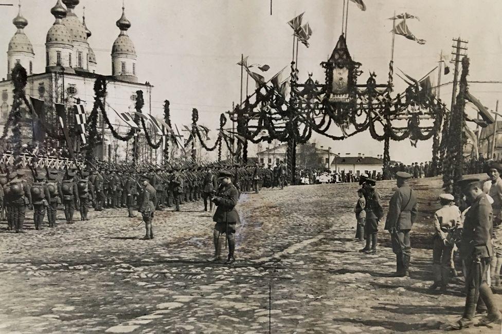 Death Island': Britain's 'concentration camp' in Russia