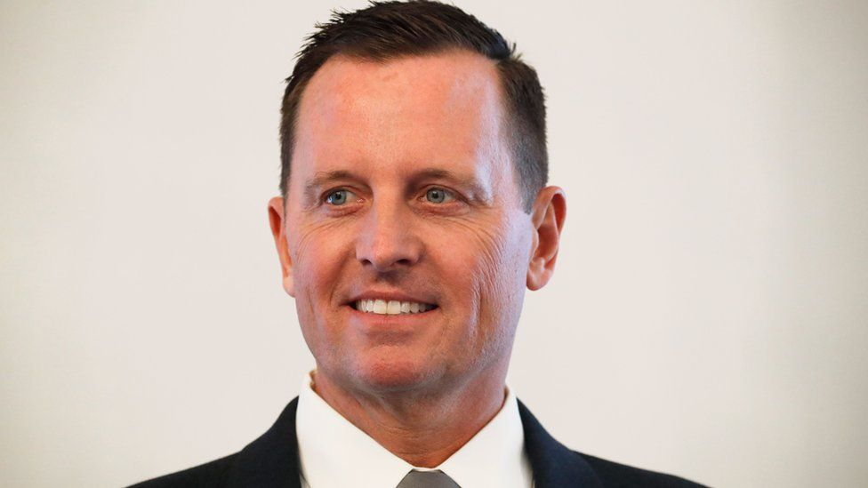 The new US ambassador to Germany Richard Grenell