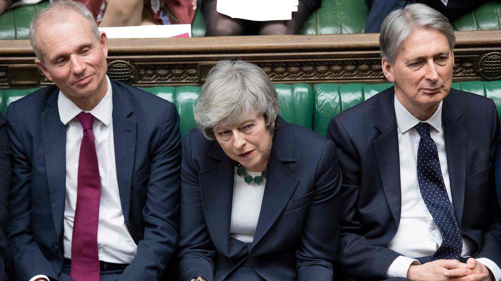 David Lidington, Theresa May, Philip Hammond