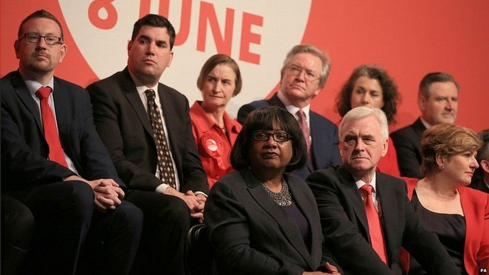 Shadow cabinet ministers