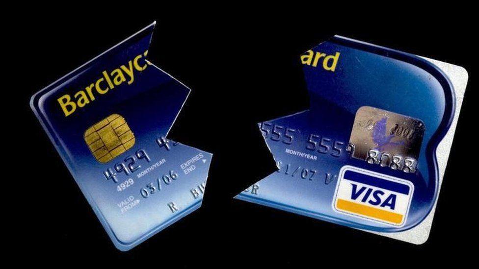 Broken Barclaycard