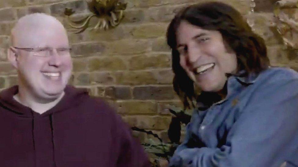 Matt Lucas and Noel Fielding
