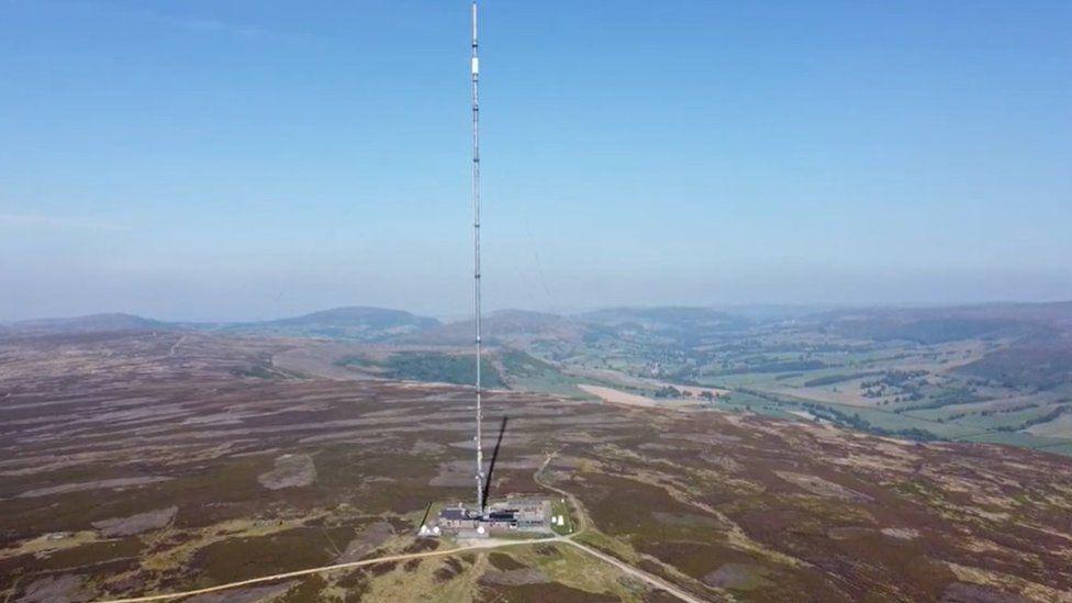The Bilsdale mast