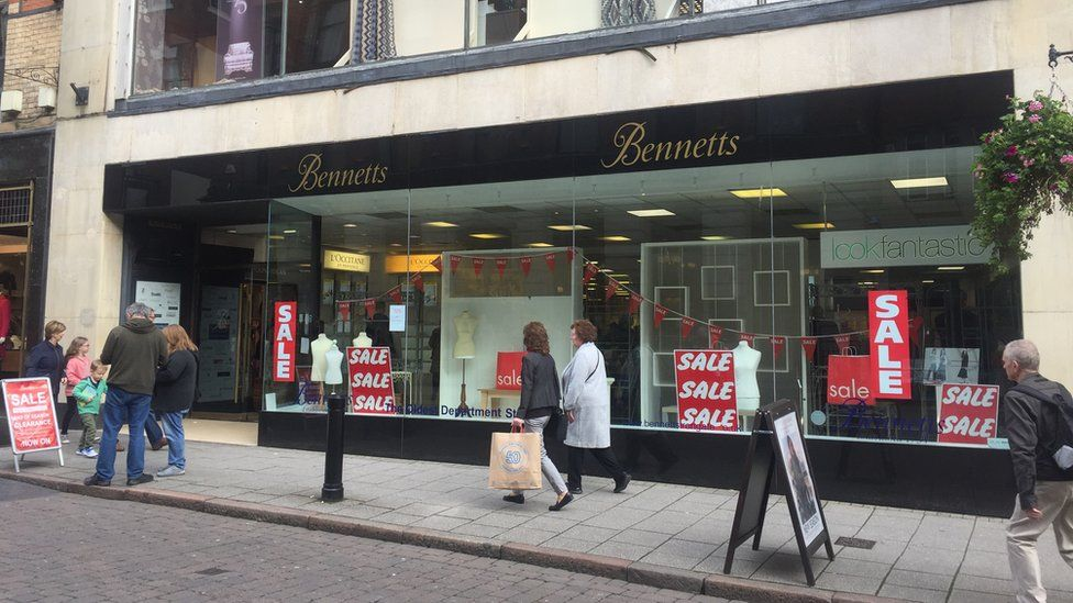Bennetts: 'World's oldest' department store closes