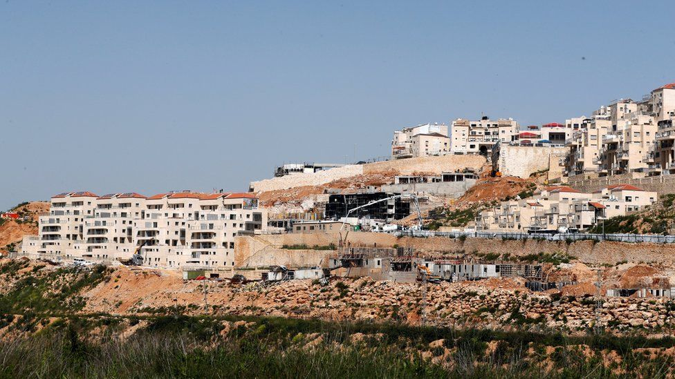 Jewish settlement of Beitar Illit in the occupied West Bank