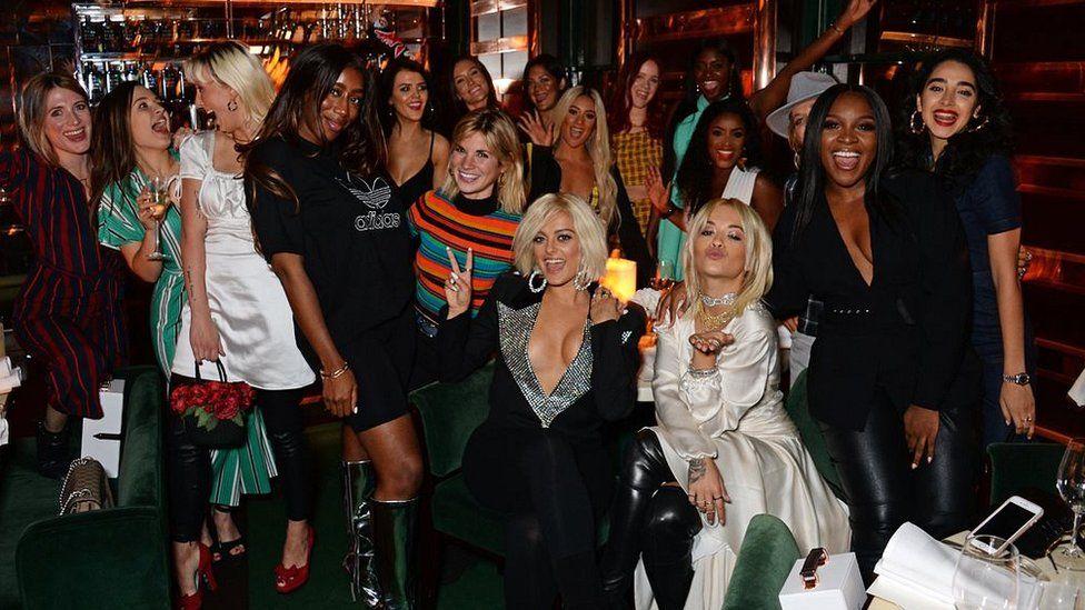 Bebe Rexha's Women In Harmony dinner