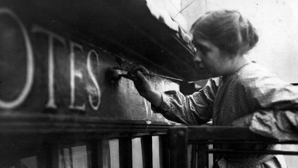 Sylvia Pankhurst in 1912