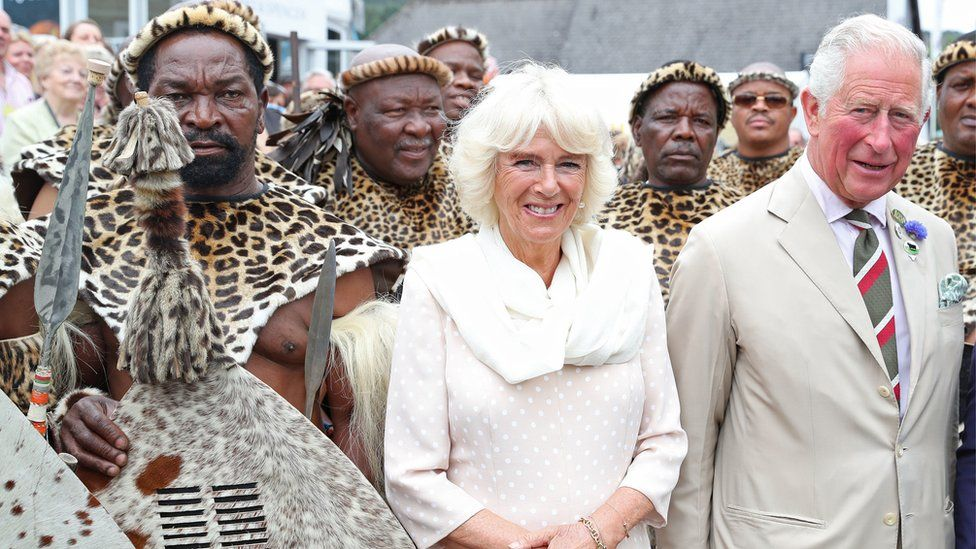 The Duchess of Cornwall and the Prince of Wales