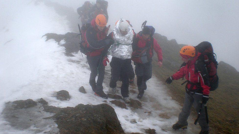 Llanberis mountain Rescue Team