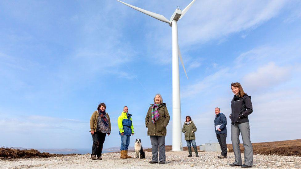 Coigach wind turbine
