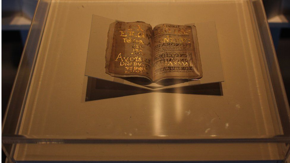 A view of the manuscript.