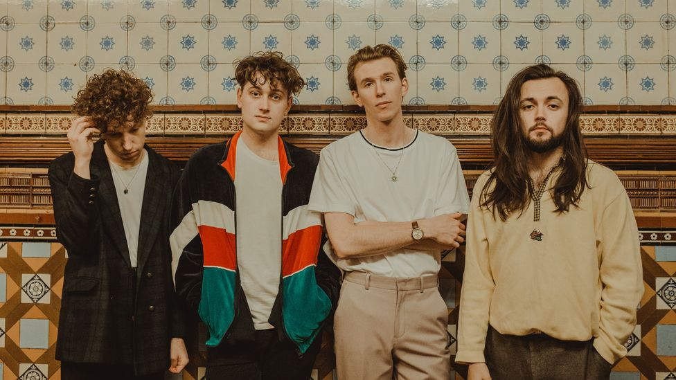 Marsicans are James (second left), Oli, Rob and Cale