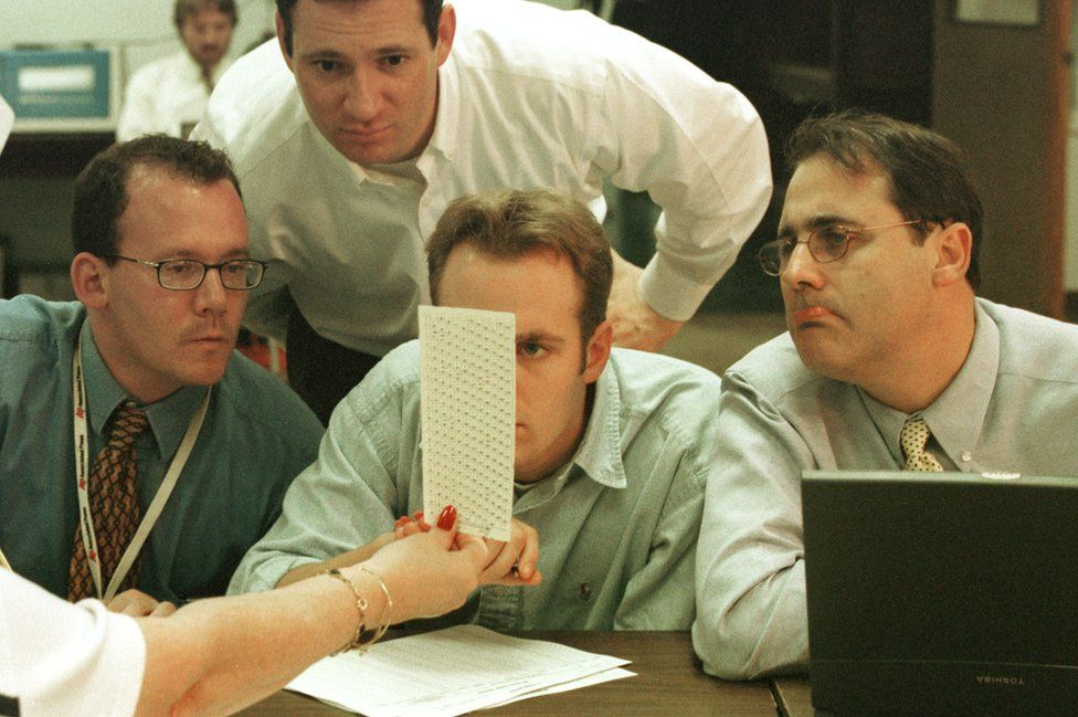 Every vote in some Florida counties was scrutinised in 2000