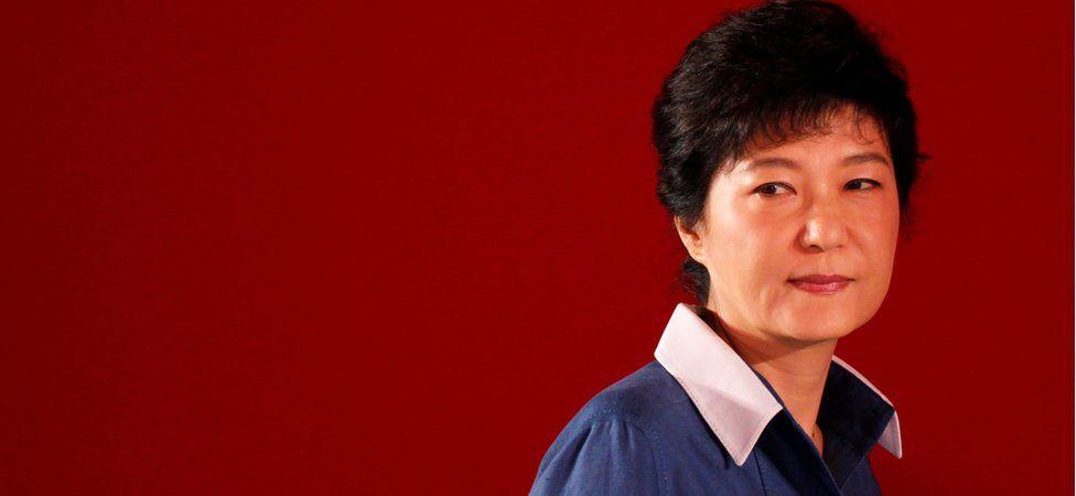 South Korea's impeached President Park Geun-hye (file image)