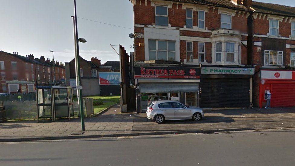 Khyber Pass restaurant in Hyson Green, Nottingham