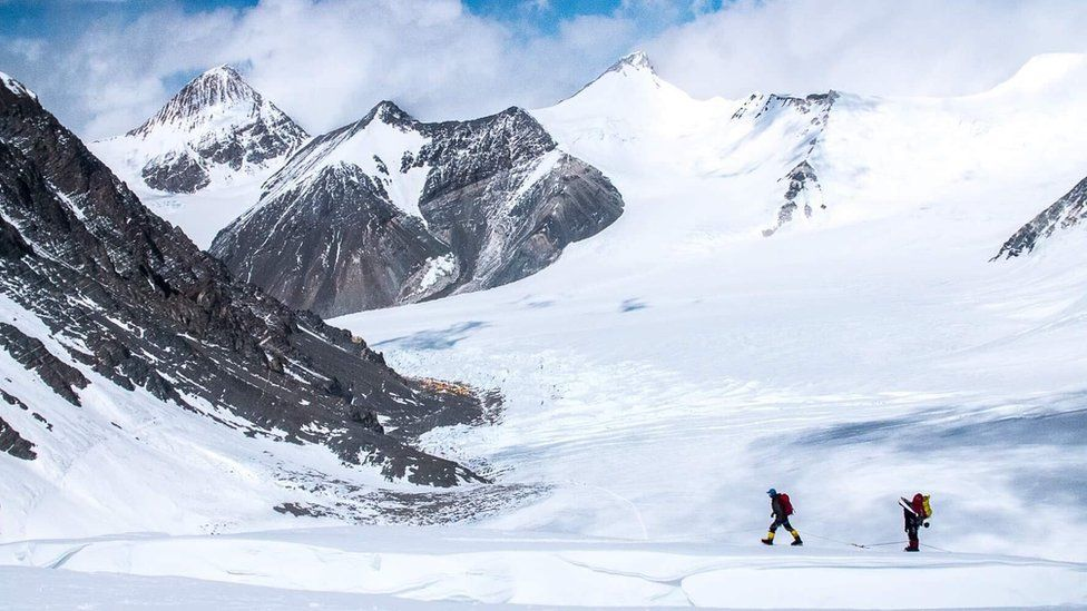 North Col of the Everest region