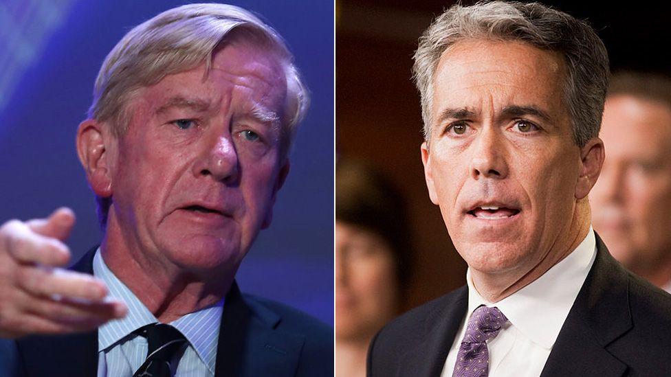 Elecciones 2020: quiénes son Bill Weld y Joe Walsh, los dos republicanos que desafían la nominación de Trump para la reelección