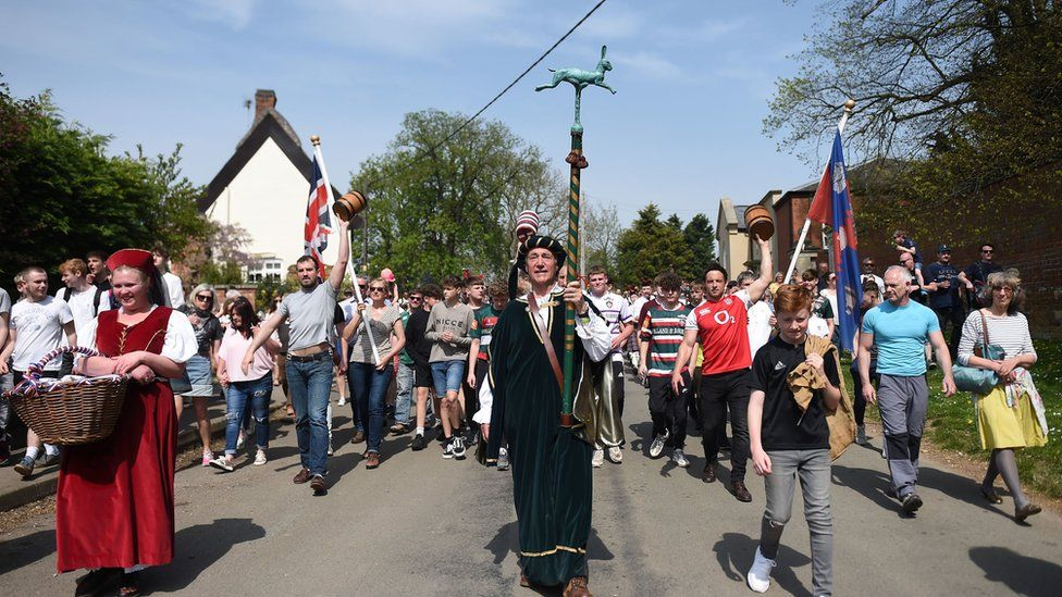 Hallaton bottle kicking