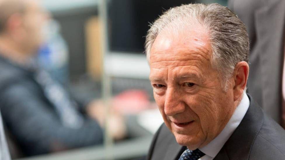 Félix Sanz Roldán in 2017