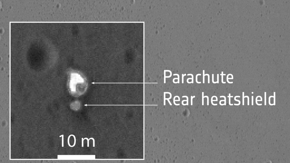 Mars lander
