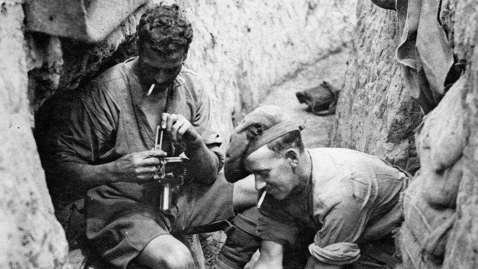 Soldiers at Passchendaele