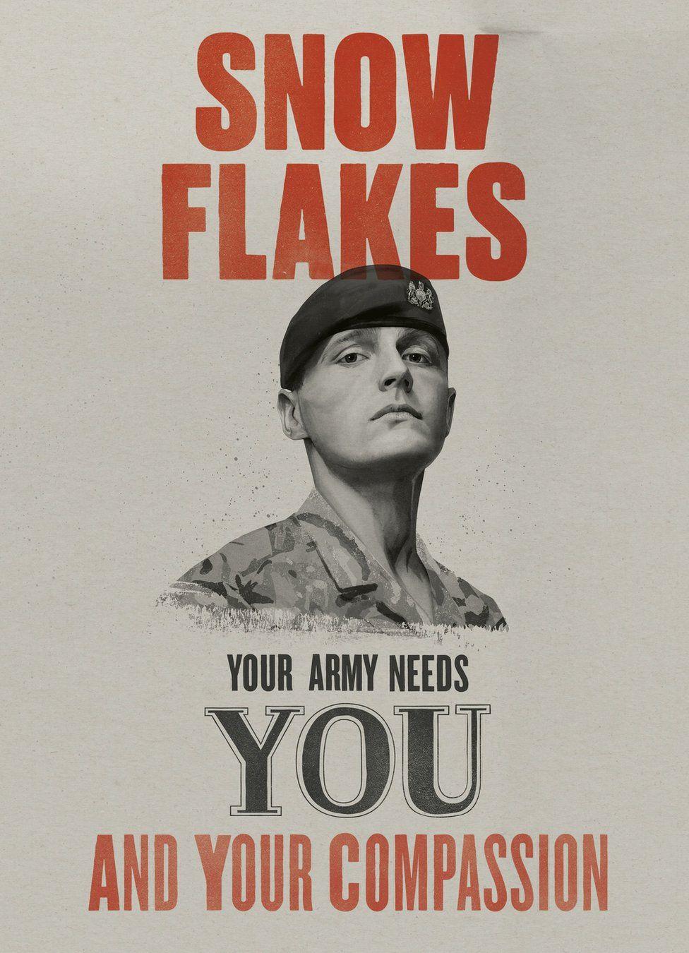 British Army recrtuiment poster