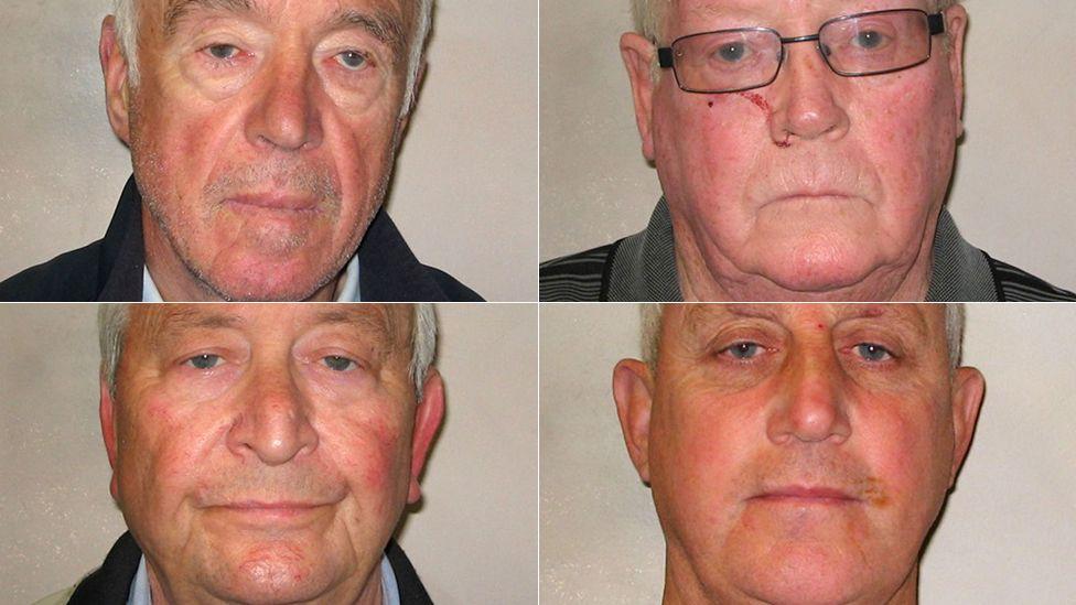 Brian Reader, Kenny Collins, Terry Perkins, Daniel Jones