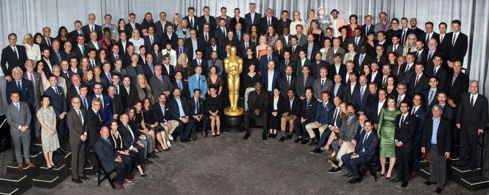 Oscar nominees photo