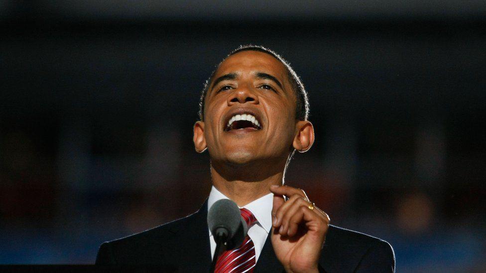 Obama Denver DNC convention 2008