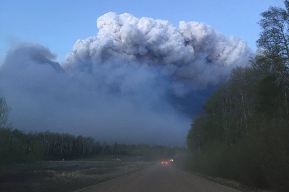 Road in Fort McMurray