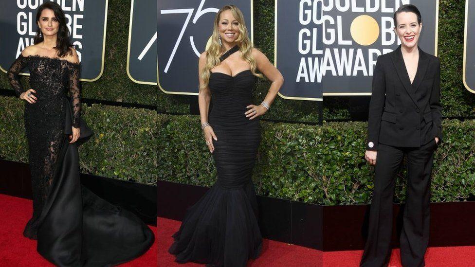 Penelope Cruz, Mariah Carey and Clare Foy