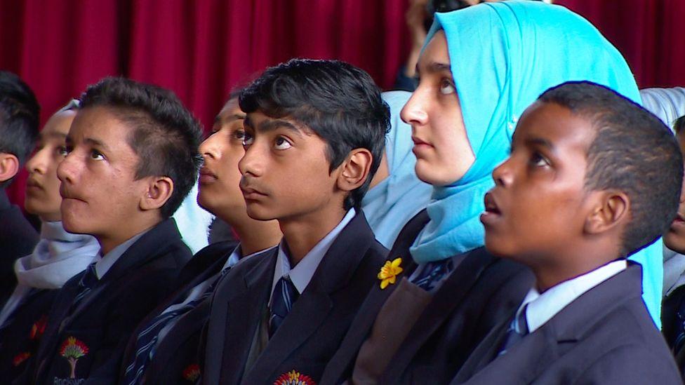 Pupils at Rockwood Academy