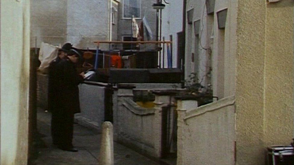 Peter Miller murder scene in Great Yarmouth