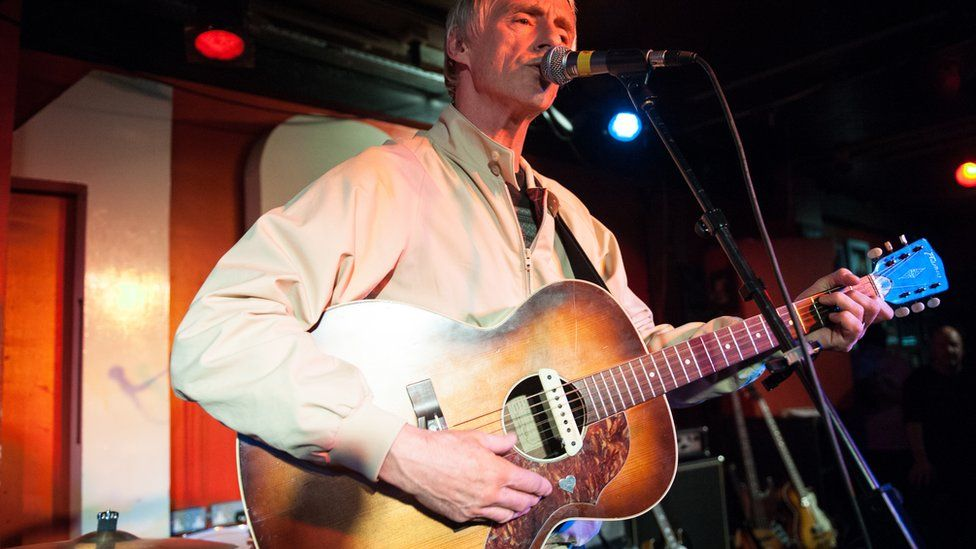 Paul Weller supporting The Moons at the 100 Club in 2013
