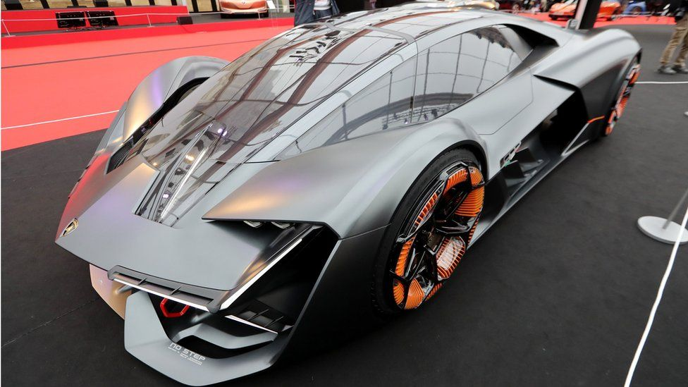 Lamborghini's Terzo Millennio electric supercar prototype