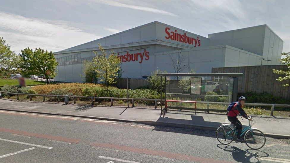 Sainsbury's store in Lancaster Road, Morecambe