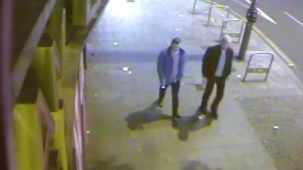 CCTV footage shows Jack Taylor and Stephen Port together