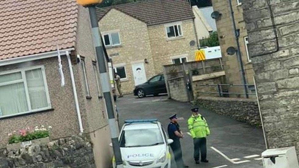 Paulton terror arrest
