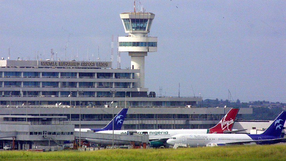 Murtala Mohammed International Airport in Lagos