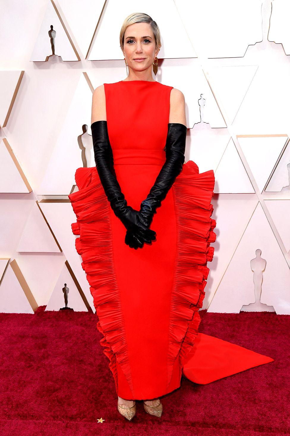 Kristen Wiig on the red carpet