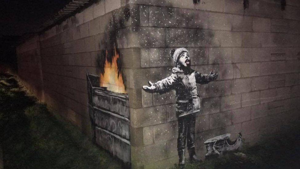 Gwaith Banksy