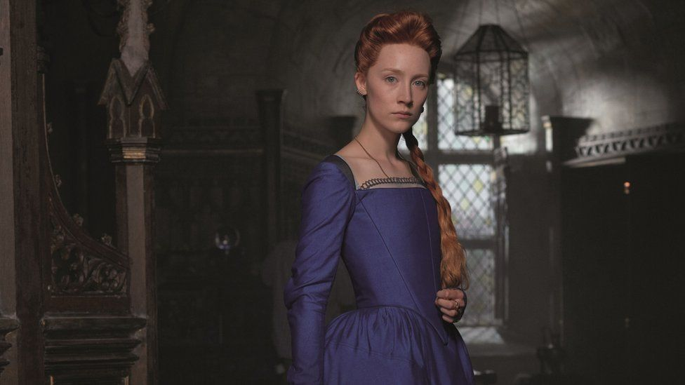 Saoirse Ronan as Mary Queen of Scots