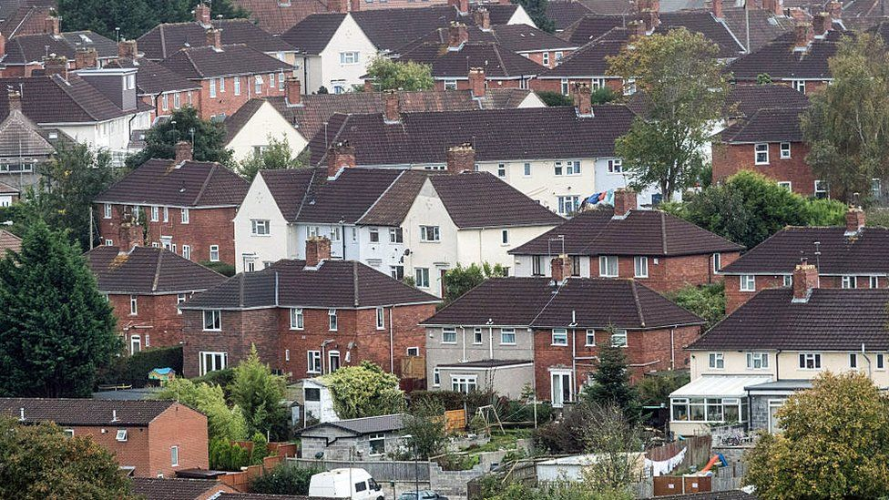 A housing estate in Bristol