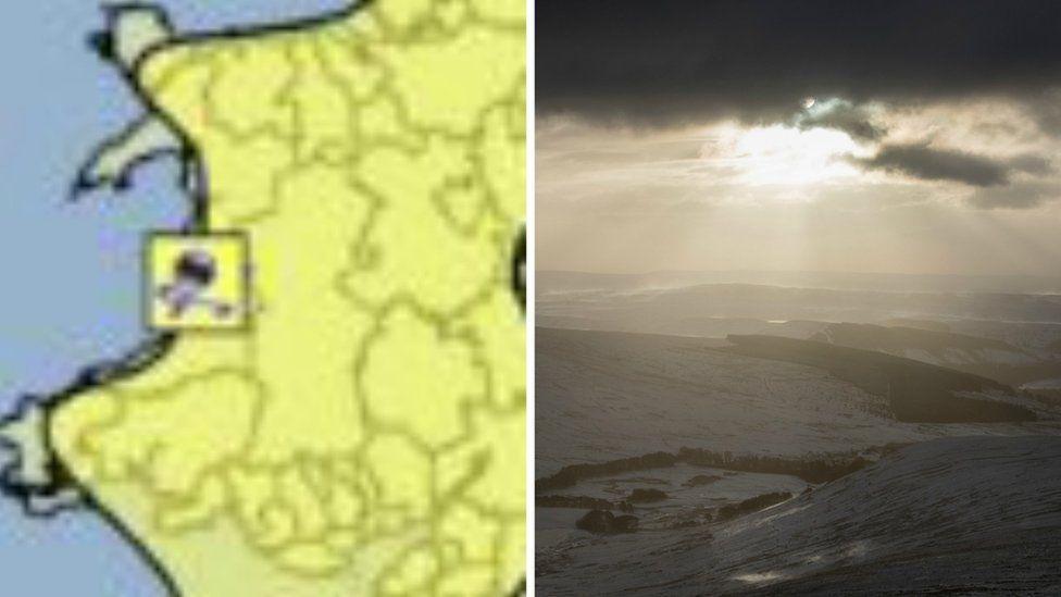 Wales ice warning